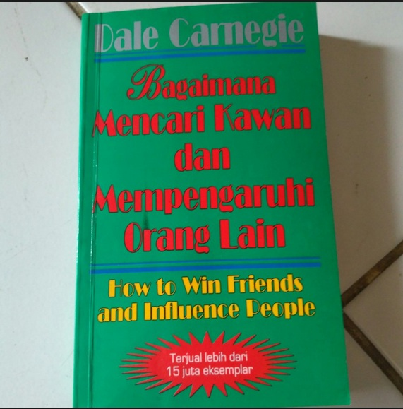 Buku Bagaimana Mencari Kawan Dan Mempengaruhi Orang Lain