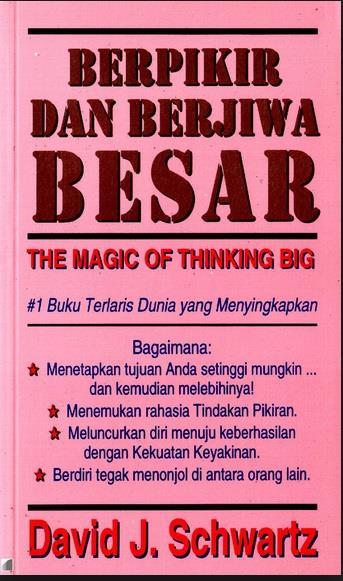 Buku Berpikir Dan Berjiwa Besar