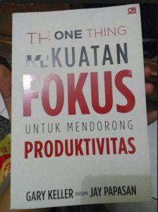 Buku The One Thing
