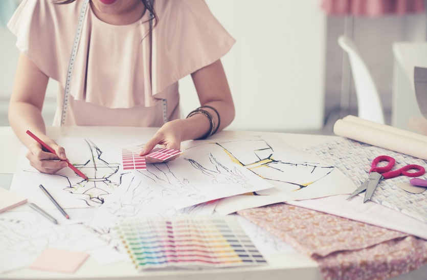 Menjadi Fashion Desainer