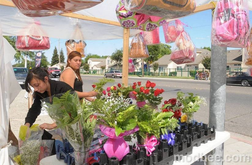 Menjual Bunga Potong