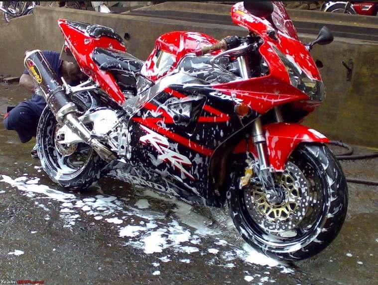 Usaha Pencucian Sepeda Motor