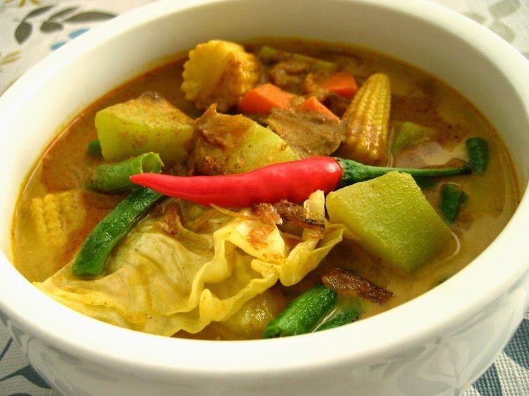 Resep Sayur Lodeh Labu Siam